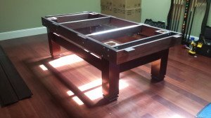 Correctly performing pool table installations, Kingsport Tennessee