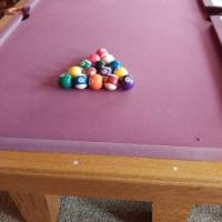 Provincial 7ft Pool Table