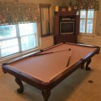 Brunswick Clawfoot 8' ft Pool Table