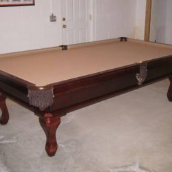 Pool Billiard Table 9 ft 2 in by 5 ft